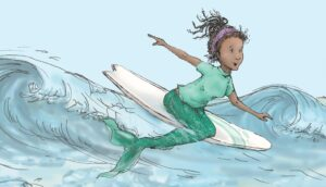 surfing-mermaid
